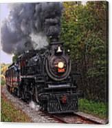 Ohio Central #1293 Steam Canvas Print