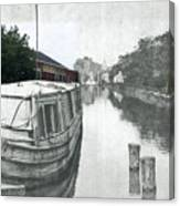 Ohio Erie Canal - Retouched Canvas Print