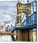Ohio River Bridge Canvas Print
