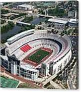 Ohio Stadium Aerial Canvas Print
