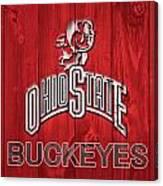 Ohio State Buckeyes Barn Door Canvas Print