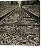 Ohio Train Tracks Canvas Print