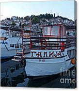 Ohrid Harbour - Macedonia Canvas Print
