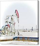 Oil Field Canvas Print
