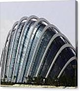 Oil Painting - One Of The Conservatories Of The Gardens By The Bay In Singapore Canvas Print