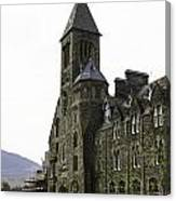 Oil Painting - Repair Of The Benedictine Abbey At Fort Augustus Now Apartments Canvas Print