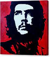 Original Oil Painting Art -ernesto Guevara#16-2-5-30 Canvas Print