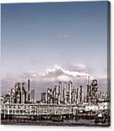 Oil Refinery Canvas Print