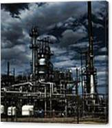 Oil Refinery Sinclair Wyoming Canvas Print