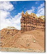 Ojitos De Los Gatos Panorama - New Mexico Canvas Print