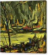 Okanagan Highlights By Prankearts Canvas Print