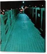 Okc Bridge Canvas Print