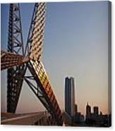 Okc Sky Bridge Canvas Print