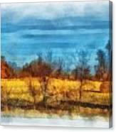 Oklahoma Hay Rolls Photo Art 03 Canvas Print