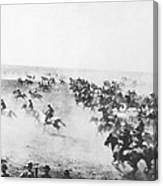 Oklahoma Land Rush Canvas Print