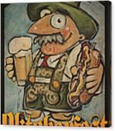Oktoberfest Guy Poster Canvas Print