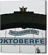 Oktomberfest In Bavaria Canvas Print
