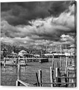 Olcott On A Winter Day Canvas Print