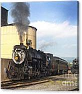 Old 3254 Heading Down The Line Canvas Print