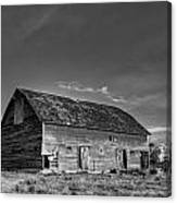 Old Abandoned Barn - D Rd Nw - Douglas County - Washington - May 2013 Canvas Print