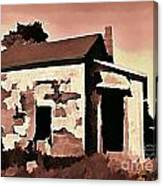 Old Abandoned House In Cape Breton Canvas Print
