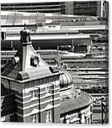 Old And New Tokyo Station Canvas Print