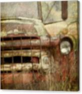 Old And Rusted Canvas Print