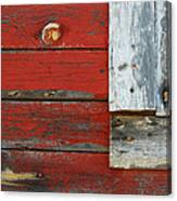 Old And Weathered Canvas Print