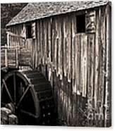 Old Appalachian Mill Canvas Print