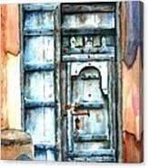 Old Arabian Door Canvas Print