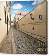 Old Architecture In Prague Canvas Print