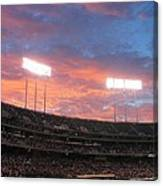 Old Ball Game Canvas Print