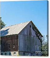 Old Barn 1  Canvas Print