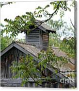 Old Barn 11 Canvas Print