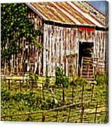 Old Barn #3 Canvas Print