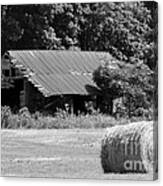 Barn In Kentucky No 84 Canvas Print