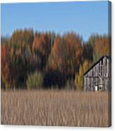 Old Barn In Armada Canvas Print