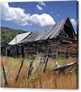 Old Barn Las Trampas New Mexico Canvas Print