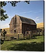 Old Barn On The Palouse Canvas Print