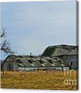 Old Barns In The Heartland Canvas Print