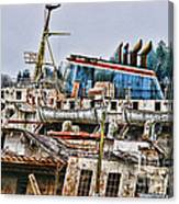 Old B.c. Ferry Canvas Print