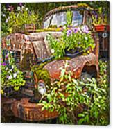 Old Truck Betsy Canvas Print
