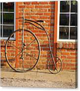 Old Bike Canvas Print