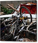 Old Bikes - Series I Canvas Print