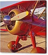 Old Biplane I I I Canvas Print