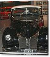 Old Black And White Hardtop Canvas Print
