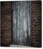 Old Blacksmith Shop Door Canvas Print
