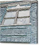 Old Blue Building I Canvas Print