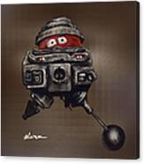 Old Bob Canvas Print