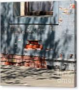Old Bricks And Mortar Canvas Print
